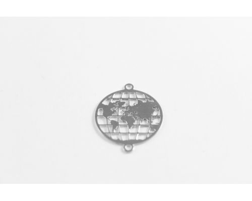 Conector pluma plata de ley 925